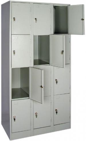 Шкаф металлический для сумок ШРМ - 312 купить на выгодных условиях в Калининграде