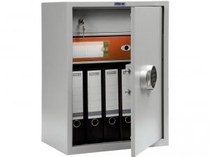 Шкаф металлический бухгалтерский ПРАКТИК SL-65Т EL купить на выгодных условиях в Калининграде