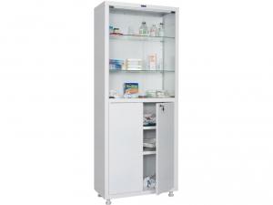 Металлический шкаф медицинский HILFE MD 2 1670/SG купить на выгодных условиях в Калининграде