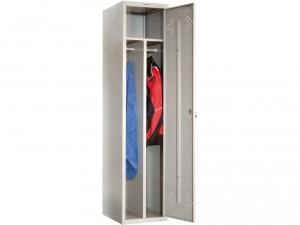 Шкаф металлический для одежды ПРАКТИК LS(LE)-11-40D купить на выгодных условиях в Калининграде