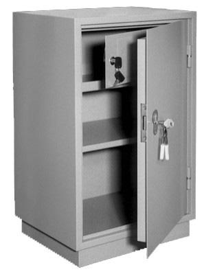 Шкаф металлический для хранения документов КБ - 011т / КБС - 011т купить на выгодных условиях в Калининграде