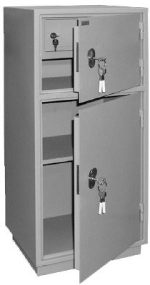 Шкаф металлический бухгалтерский КБ - 042т / КБС - 042т купить на выгодных условиях в Калининграде