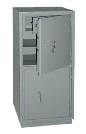 Шкаф металлический бухгалтерский КС-2Т купить на выгодных условиях в Калининграде
