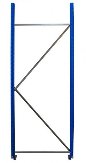 Рама для складского металлического стеллажа 2500x800 купить на выгодных условиях в Калининграде