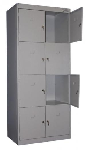 Шкаф металлический для сумок ШРК-28-800 купить на выгодных условиях в Калининграде