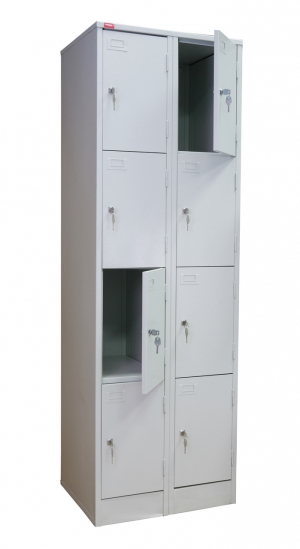 Шкаф металлический для сумок ШРМ - 28