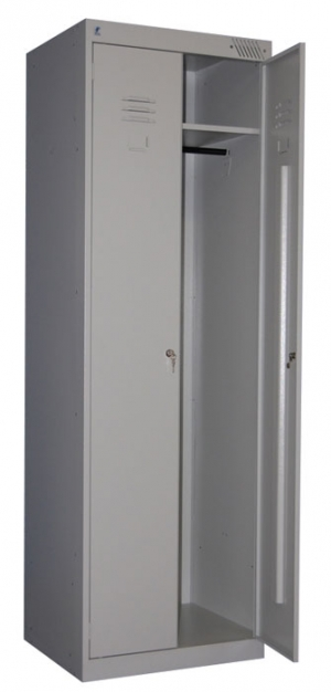 Шкаф металлический для одежды ШРК-22-600 купить на выгодных условиях в Калининграде