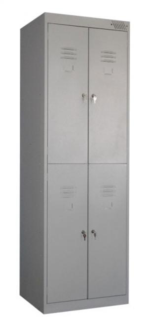 Шкаф металлический для одежды ШРK-24-800 купить на выгодных условиях в Калининграде