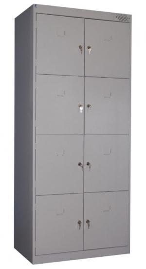 Шкаф металлический для сумок ШРК-28-600 купить на выгодных условиях в Калининграде